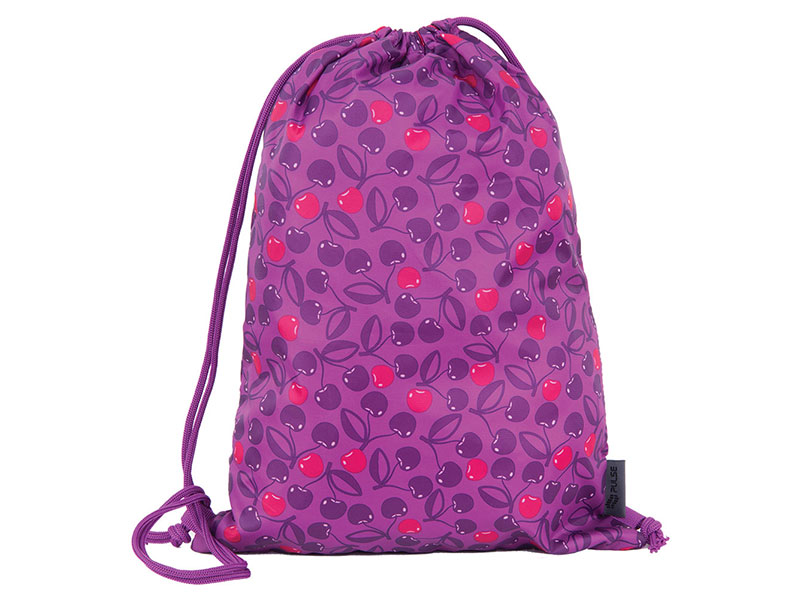 GYM BAG FOR SCHOOL PULSE CHERRY