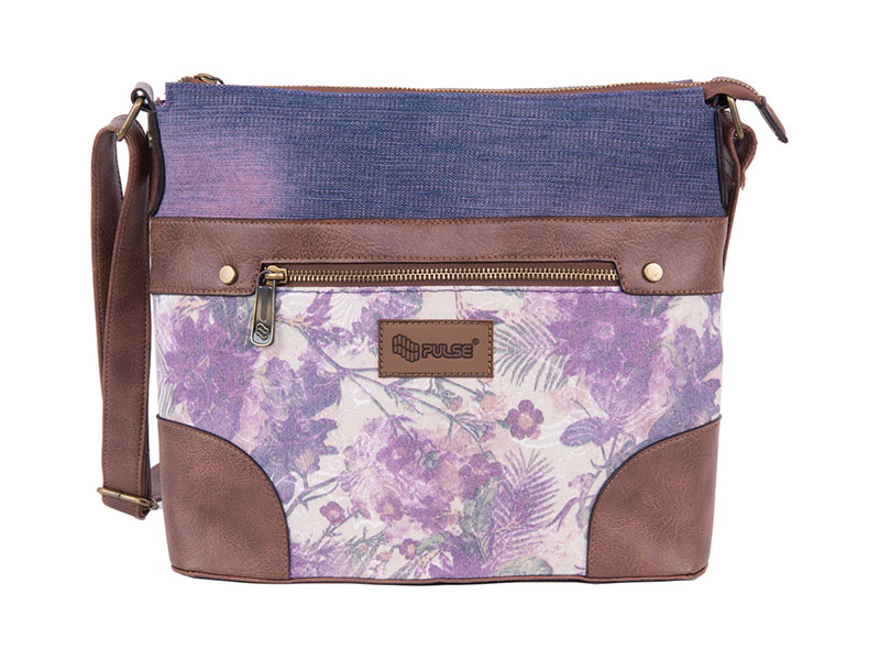 SHOULDER BAG PULSE JEANS FLORAL