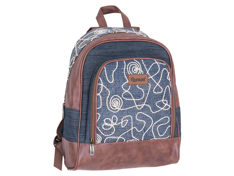 BACKPACK PULSE JEANS GLOSSY