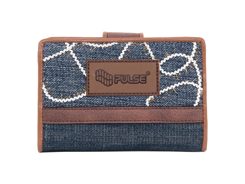 WALLET PULSE JEANS GLOSSY
