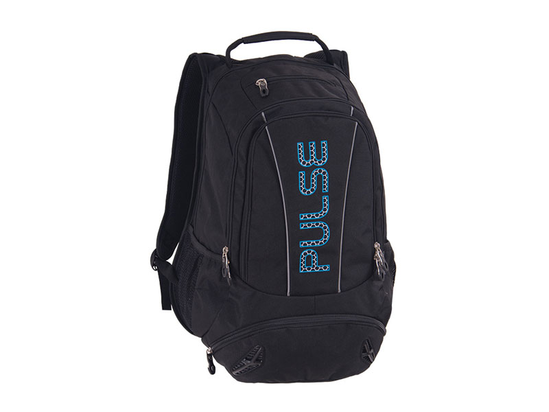 BACKPACK  PULSE SPORT BLACK BLUE