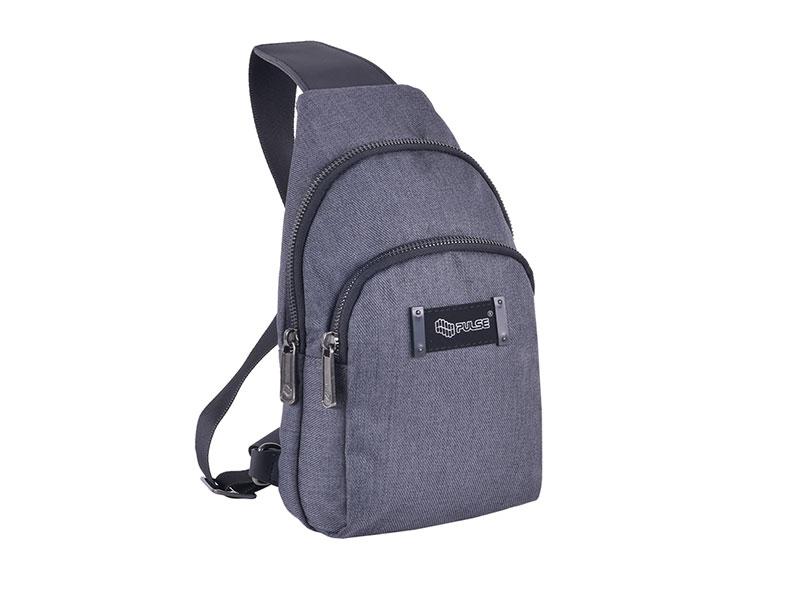 מכירה חמה איכות מעולה אופנה SHOULDER BAG PULSE NEPTUN GRAY - Pulse - Pulse