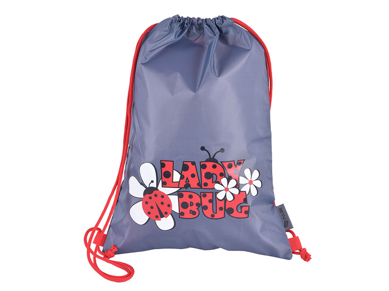 GYM BAG FOR SCHOOL PULSE LADY BUG