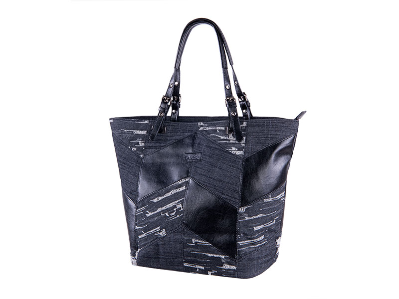 POSTMAN BAG PULSE VENEZIA BLACK JEANS