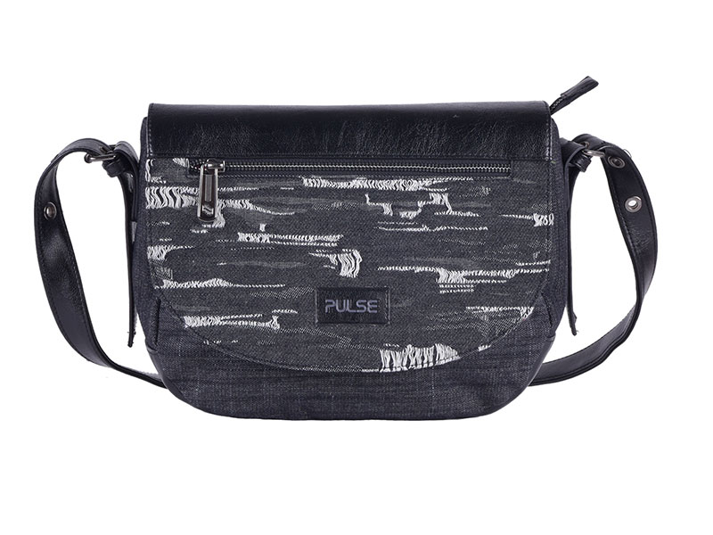 SHOULDER BAG PULSE TRIESTE BLACK JEANS