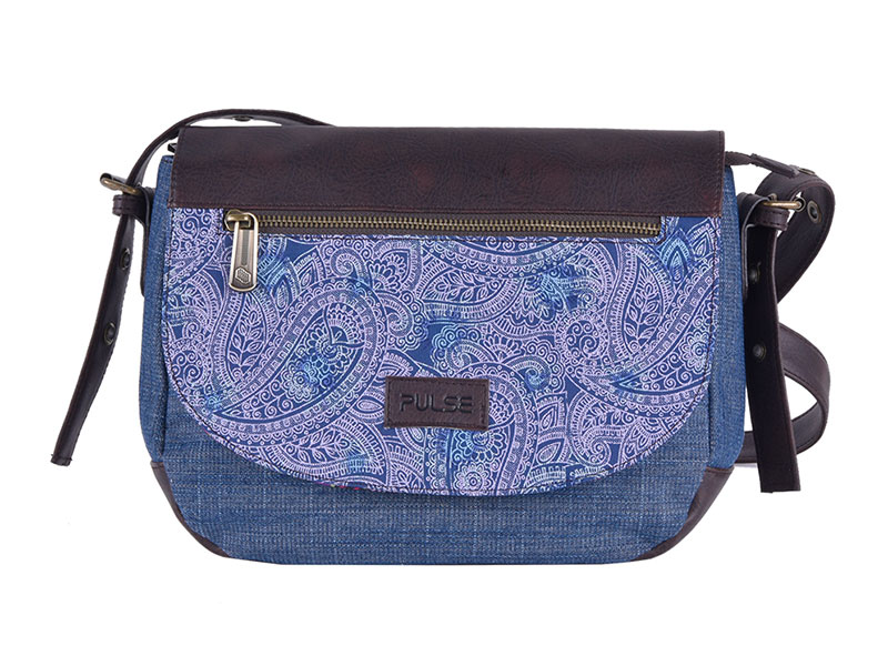 SHOULDER BAG PULSE TRIESTE ETHNO JEANS