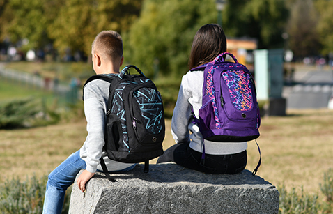 Backpacks for children and teenagers