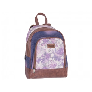BACKPACK PULSE JEANS FLORAL