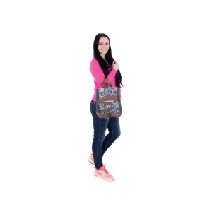 BACKPACK PULSE MINI JEANS GLOSSY