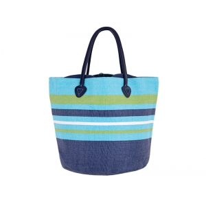 BEACH BAG AIYA NAPA LIGHT BLUE