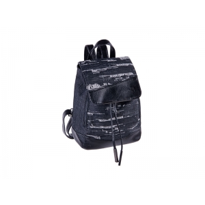 BACKPACK PULSE ROMA BLACK JEANS