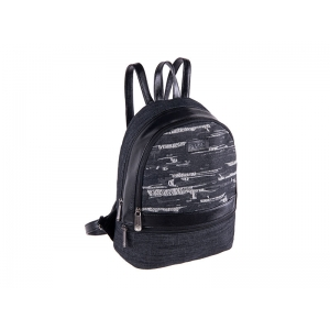 BACKPACK PULSE FIRENZE BLACK JEANS